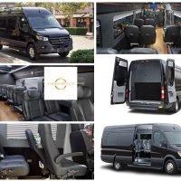 Mercedes Benz Luxury Sprinter 14-Seat Van